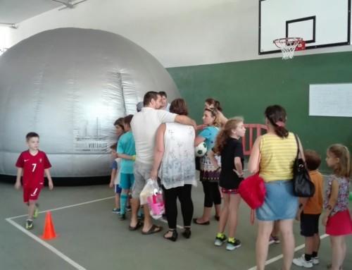 La Cúpula de Mares Virtuales visita el Corazón de María de Zamora