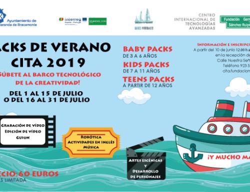 «Sube al barco tecnológico de la creatividad» Packs de verano 2019