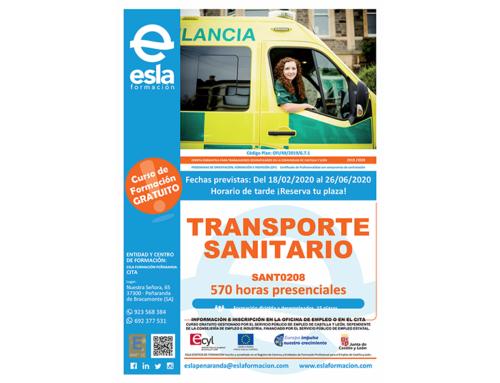 Curso gratuito de Transporte Sanitario